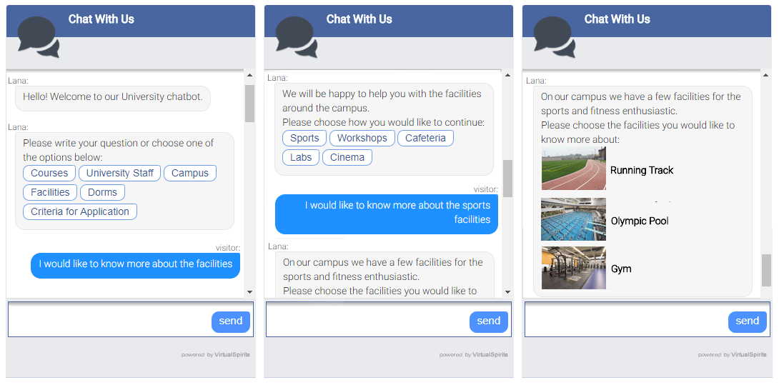 Chatbot for University Student Enrollment