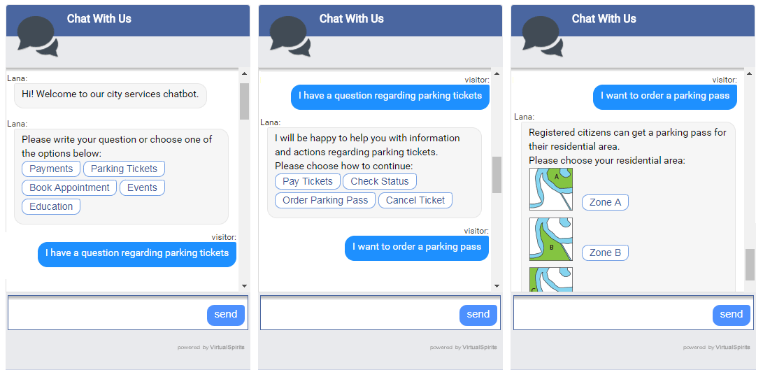Chatbot city services