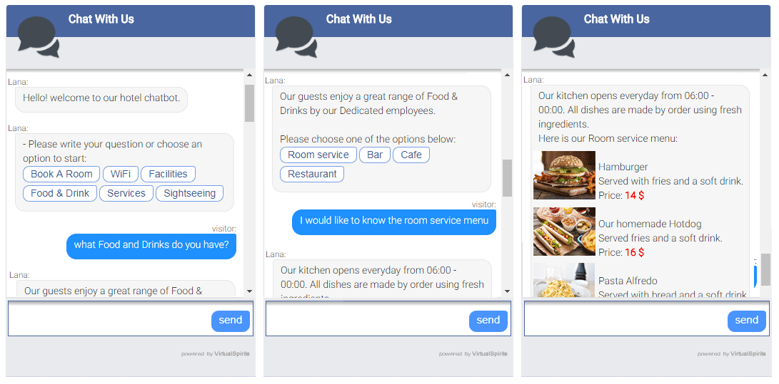 chatbots for hotels