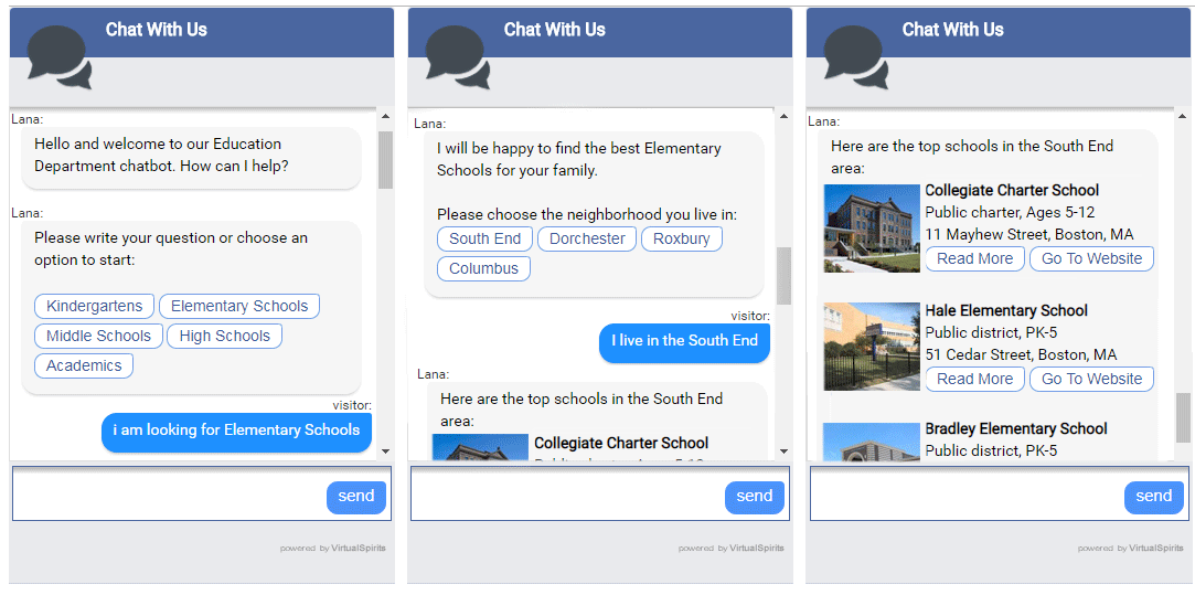 city chatbot services