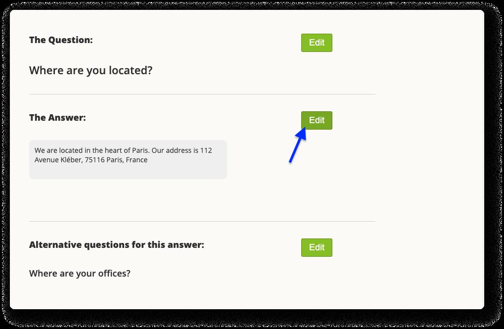 add Google map to answer