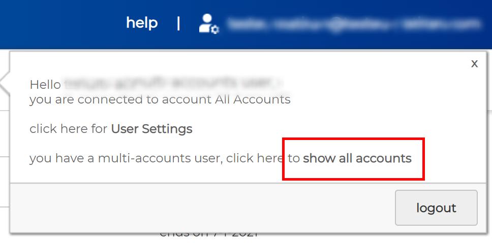 multi account access